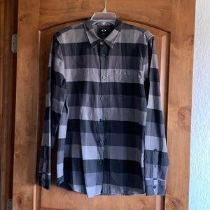 Mens Oakley Flannel Shirt